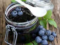 Черника, протертая с сахаром без варки - рецепты на зиму, пропорции