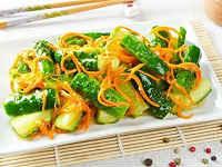 Огурцы по-корейски на зиму - наивкуснейшие рецепты салата