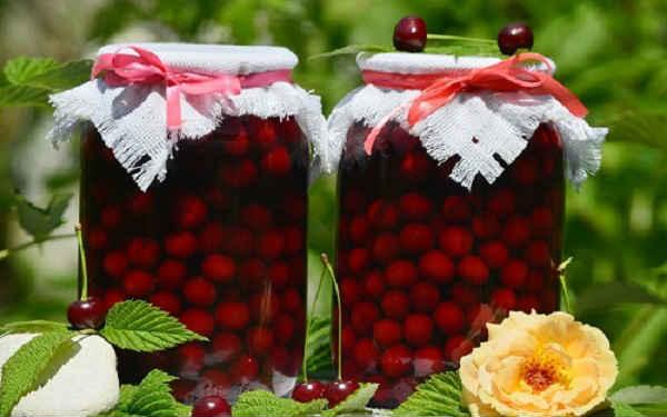вишневый компот рецепты