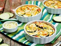 Кабачковая запеканка - рецепты с фаршем, помидорами, сыром, творогом, овощная