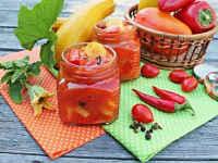 Лечо из перца с помидорами - простые рецепты на зиму
