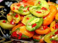 Салаты из зеленых помидоров на зиму - очень вкусные рецепты