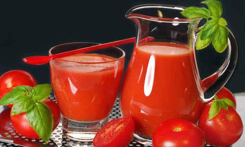 томатный сок на зиму