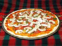 Домашняя пицца с грибами - 4 рецепта приготовления