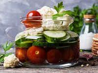 Салаты из цветной капусты на зиму - 10 вкусных рецептов пальчики оближешь