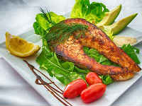 Семга, запеченная в духовке - 7 рецептов приготовления красной рыбы целиком и стейками