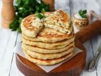 лепешки с сыром рецепт