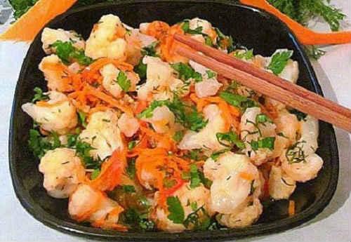 рецепт корейской капусты