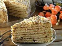 Торт на сковороде со сгущенкой - 4 пошаговых рецепта с фото