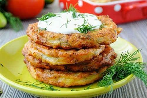 оладьи из кабачков самый вкусный рецепт