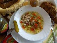 Рассольник с рисом и солеными огурцами - 2 пошаговых рецепта классического супа