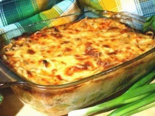 рецепт запеканки из картошки в духовке