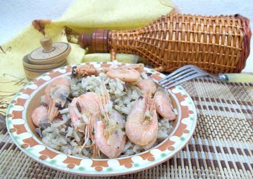 ризотто с морепродуктами рецепт