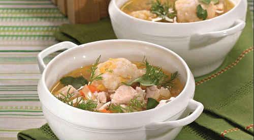 Утиный суп с клецками - рецепт пошаговый с фото