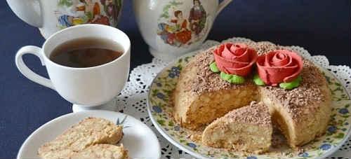 Ленивый Наполеон из печенья - рецепт пошаговый с фото