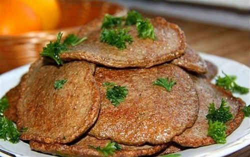 очень вкусные оладьи из говяжьей печени