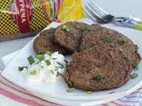 Печеночные оладьи из говяжьей печени - очень вкусные рецепты
