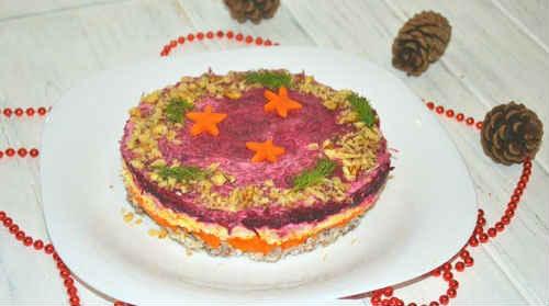 салат генерал классический рецепт
