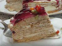 Блинный торт с кремом из Маскарпоне - пошаговый рецепт