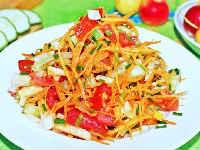 дайкон рецепты салатов