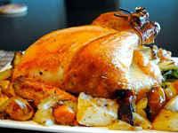 Курица в духовке целиком с картошкой - самые вкусные рецепты