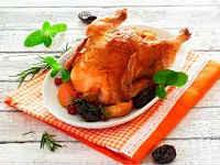 Курица с черносливом, запеченная в духовке - лучшие рецепты