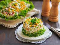 рецепты крабовых салатов