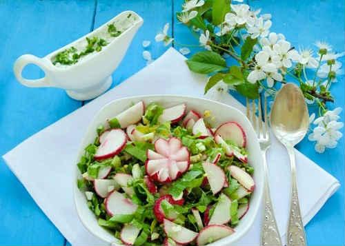 салат с черемшой рецепты