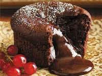 Кексы с начинкой внутри - вкусные домашние рецепты