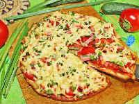 ленивая пицца рецепт