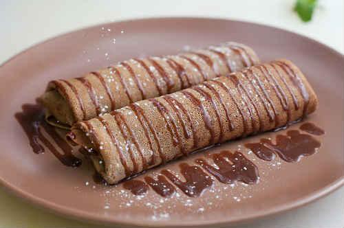 рецепт шоколадных блинов