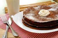 Шоколадные блины -  5 лучших рецептов блинов с какао