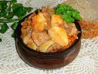 рецепт жаркого из свинины