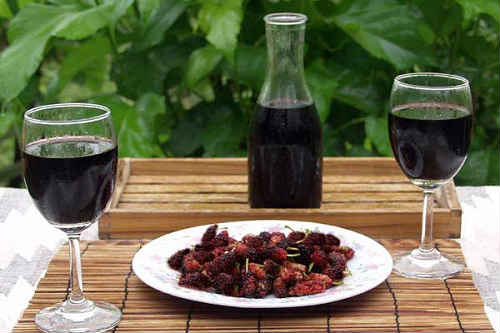 шелковичное вино