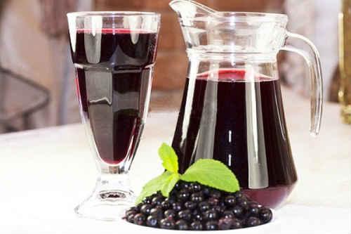 компот с вишней