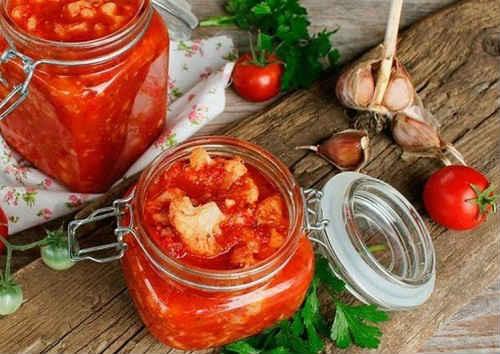 капуста в томатной заливке