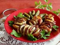 картошка гармошка рецепты