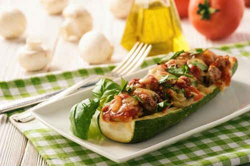 лодочки с помидорами под сыром