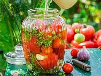 помидоры маринованные с лимонной кислотой