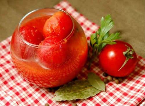 рецепт помидор с лимонной кислотой