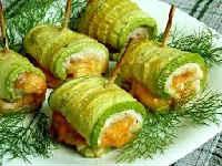 Рулеты из кабачков - вкусные рецепты с разными начинками