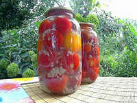 помидоры под снегом рецепт