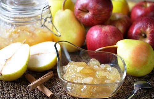 варенье из груш с яблоками