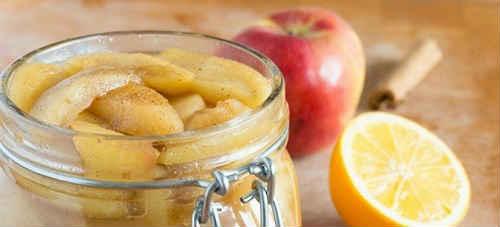 яблоки в сиропе рецепты