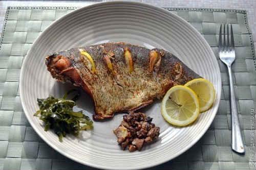 толстолобик рецепты в духовке