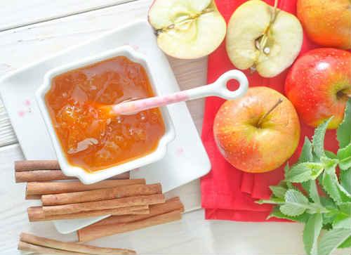 яблоки джем с корицей