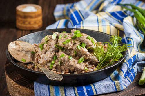 бефстроганов из свинины рецепт