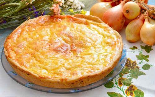 луковый пирог классический рецепт