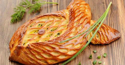 пирог - рыба