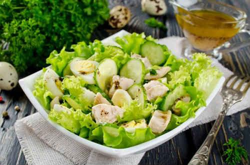 салат из печени трески рецепт
